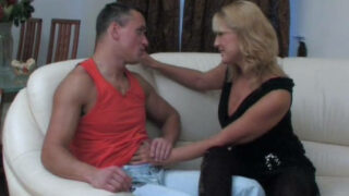 Porno vintage avec une femme mature